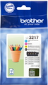 Brother Valuepack LC-3217 CMYK - 4 kleuren