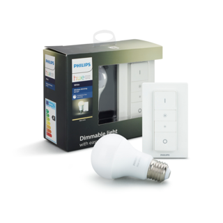 PHILIPS HUE Kit de gradation sans fil E27 - White 8718696452523