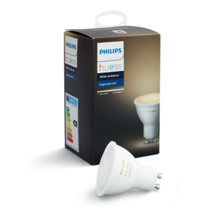 PHILIPS HUE Ampoule individuelle GU10 - White ambiance 8718696598283