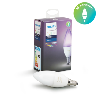 PHILIPS HUE Ampoule individuelle E14 - White and color ambiance 8718696695166