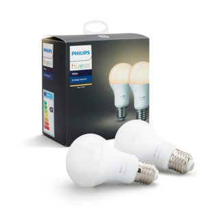 PHILIPS HUE Ampoule E27 duopack - White 8718696729113