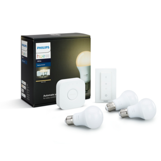 PHILIPS HUE Kit de démarrage E27 - White 8718696728987