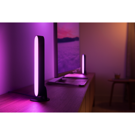 PHILIPS HUE Play lichtbalk x2 - White en color ambiance 78202/30/P7