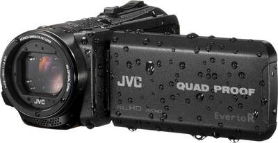 JVC Quad Proof Memory Camcorder GZ-R445BEU