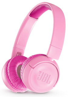 JBL JR300BT Casque Sans Fil - Rose