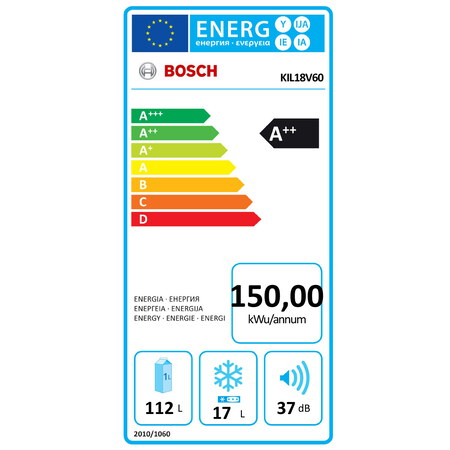 Bosch Frigo encastrable KIL18V60 MultiBox