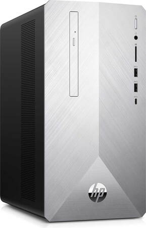 HP Pavilion Desktop PC 595-P0273-NB Natural Silver