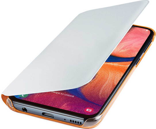 Samsung Walletcover voor Galaxy A20e - Wit