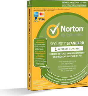 Symantec Norton™ Security Standard - 1 jaar - 1 toestel