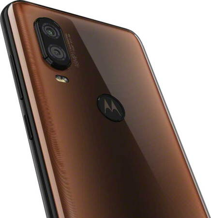 Motorola one vision Bronze Gradient
