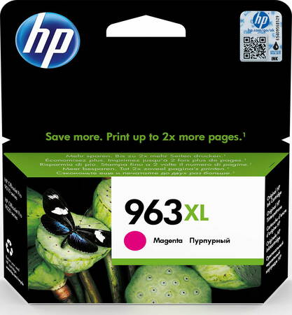 HP HP 963XL originele high-capacity magenta inktcartridge