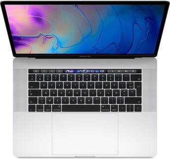 "Apple MacBook Pro 15"" (2019) Core™ i9 512 GB Zilver - MV932FN/A"