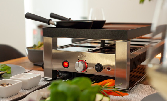 Solis Raclette Tafelgrill 5-in-1 Type 791