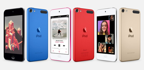 Apple iPod touch 2019 256GB - Spacegrijs