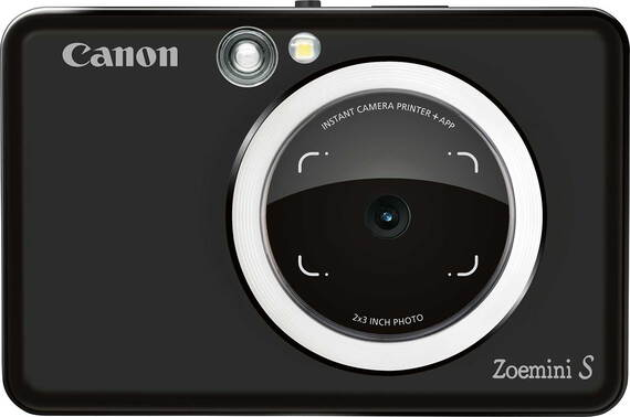 Canon Zoemini S instant fotoprinter Matt Black