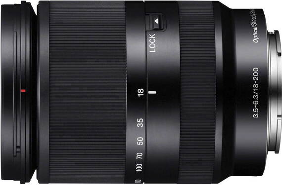 Sony E 18–200 mm f/3.5–6.3 OSS LE