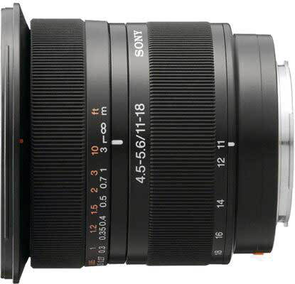 Sony DT 11–18 mm f/4.5–5.6