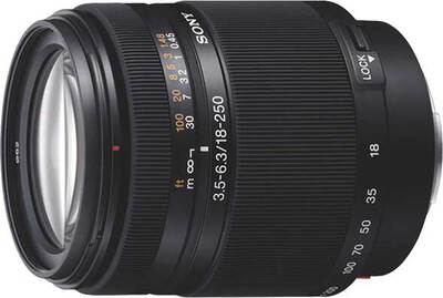 Sony DT 18–250 mm f/3.5–6.3