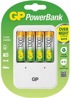 GP Batterijlader PowerBank PB420