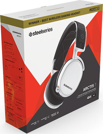 Steelseries Arctis 7 (2019 edition) gaming headset - Wit