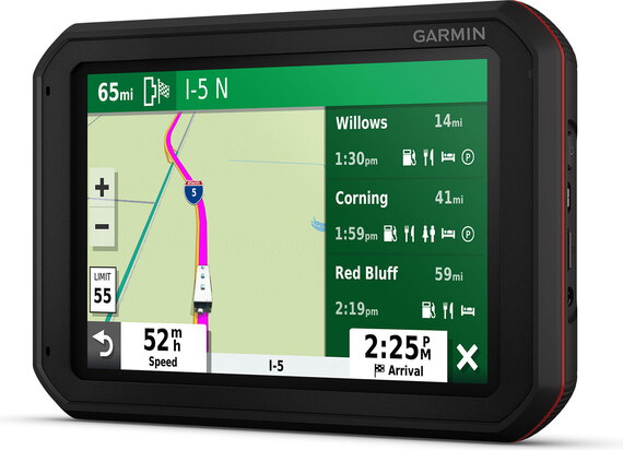 Garmin Camper 785 & Traffic met dashcam - Europa