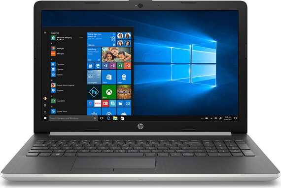 HP Notebook 15-DB0002NB Argent Naturel