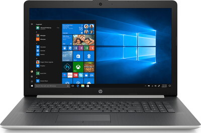 HP Laptop 17-BY1044NB Natural Silver