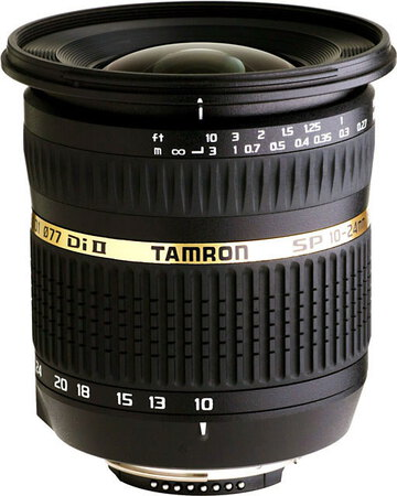 Tamron Canon SP AF 10-24 mm f/3.5-4.5 Di II LD Aspherical [IF]