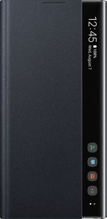 Samsung Clear View Cover pour Galaxy Note 10 - Noir