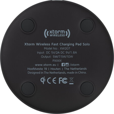 Xtorm Wireless Fast Charging Pad Solo - XW207