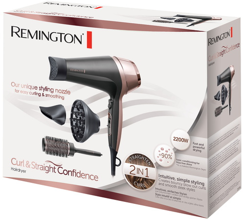 Remington Haardroger Curl & Straight Confidence D5706