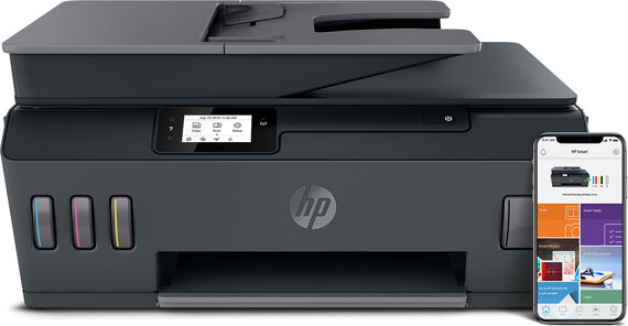 HP Imprimante tout-en-un sans fil Smart Tank Plus 570