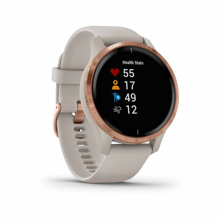 Garmin Venu - Rose gold/Light sand