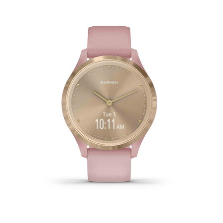 Garmin vívomove 3S - Light gold/Dust rose