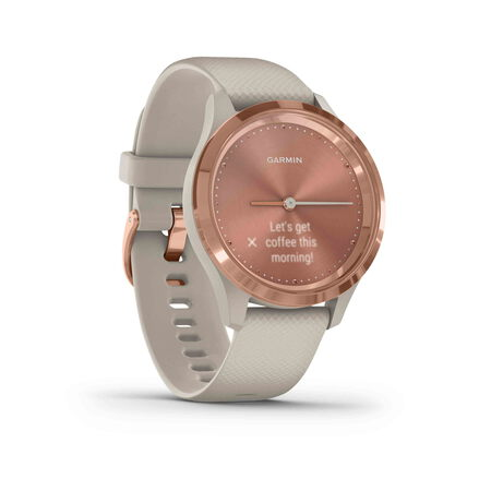 Garmin vívomove 3S - Rose Gold/Light sand