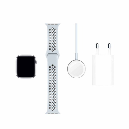 Apple Watch Nike Series 5 - Silver - Platinum black (40mm)