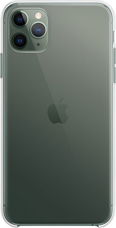Apple Coque transparente pour iPhone 11 Pro Max  - MX0H2ZM/A