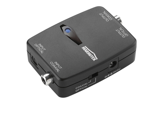 Marmitek TC22 Digital Audio Converter Toslink to Coaxial