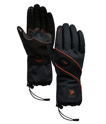 Vulpés Moontouch - Smart Heated Gloves (Cadmium Orange - S)