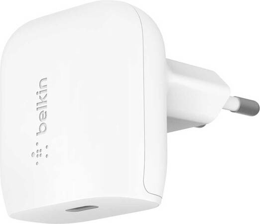 Belkin Chargeur BOOST↑CHARGE USB C - 18 W - Blanc