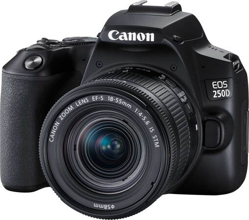 Canon EOS 250D + 18-55 mm f/4-5.6 IS STM