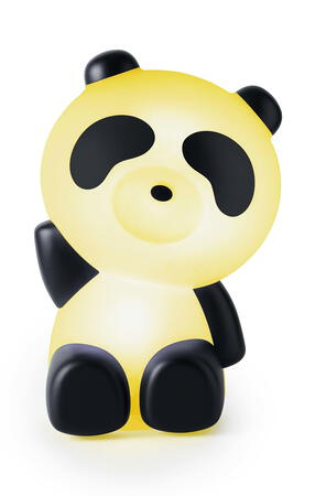 BigBen Panda Enceinte Bluetooth - Blanc avec LED lights