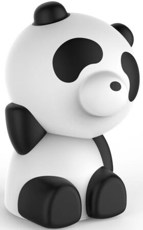 BigBen Panda Bluetooth Speaker - Wit met LED lights