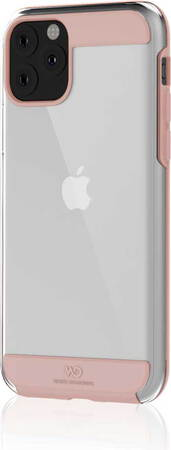 White Diamonds Coque Innocence Clear pour iPhone 11 - Or rose