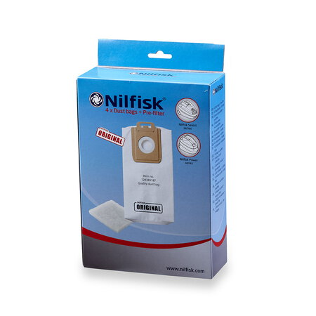 Nilfisk Stofzakken Select & Power
