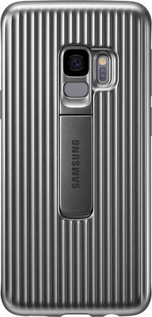 Samsung Protective Standing Cover pour Galaxy S9 - Argent