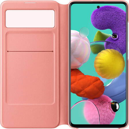 Samsung S View cover voor Galaxy A51 - Wit