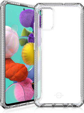 ITskins Backcover Spectrum Clear voor Galaxy A51