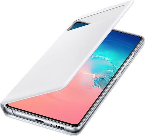 Samsung S View cover voor Galaxy S10 Lite - Wit