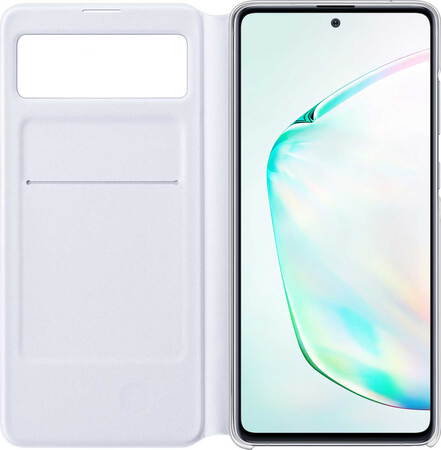 Samsung S View cover voor Galaxy Note10 Lite - Wit